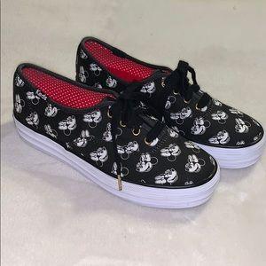 KEDS Minnie Mouse Triple Deckers Shoes